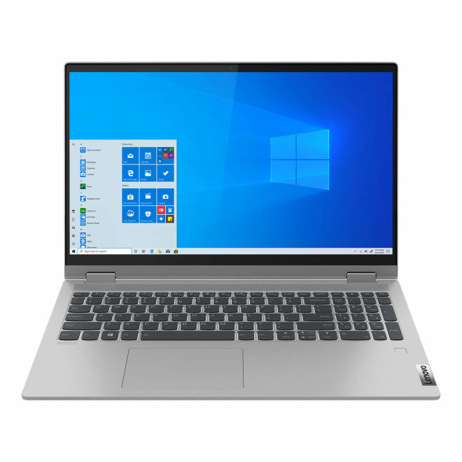 "Lenovo IdeaPad Flex 5, Intel Core i5, 15,6"" FHD, 8GB RAM, 512GB SSD, Integrated Graphics, Touchscreen, Win10 Pro, Platinum Grey, 2,0 kg [81X3005QSC]"