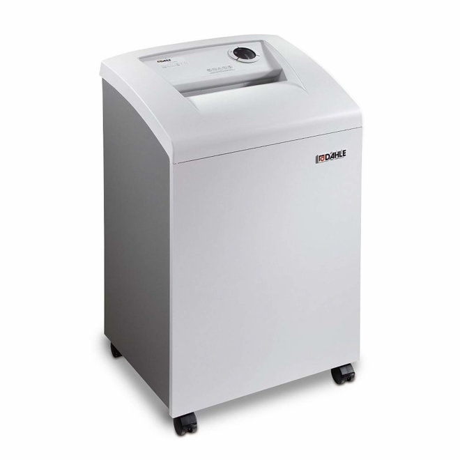 Dahle Shredder 40306 (106), uništavač papira, razina sigurnosti P-2, do 22 lista A4, rez 5,8 mm, kapacitet 60 l [4040306]