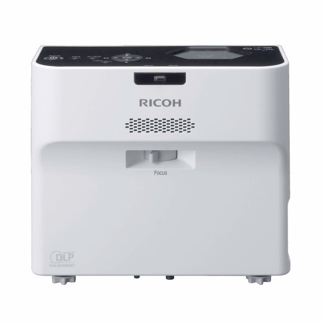 Ricoh PJ WX4152, projektor, Ultra Short-Throw, DLP, HD, USB, HDMI, VGA, 3,500 lm, Bijela, 3,0 kg [432105]