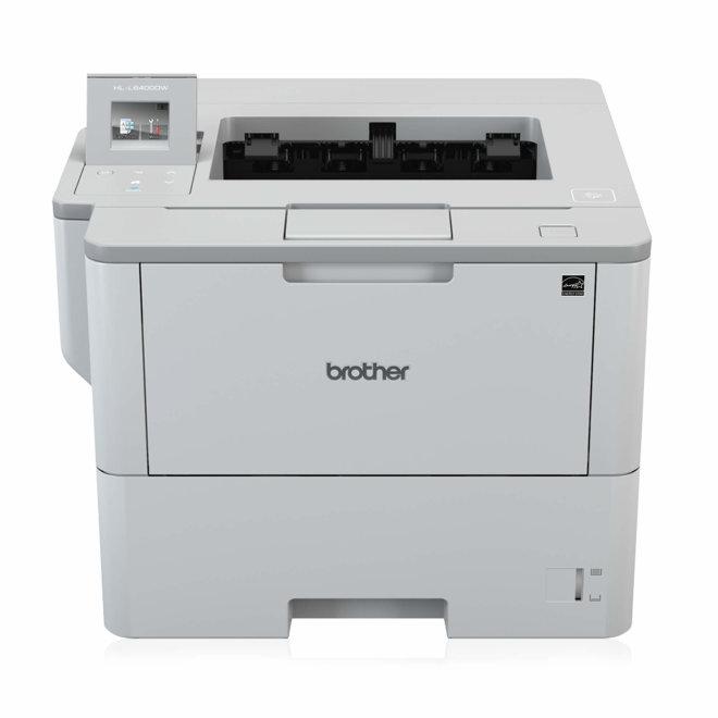 Brother HL-L6400DW, jednofunkcijski pisač, laserski crno-bijeli ispis, A4, 512MB RAM, WiFi, USB, Ethernet, Touchscreen, AirPrint, NFC, 200 g/m² [HLL6400DWRF1]