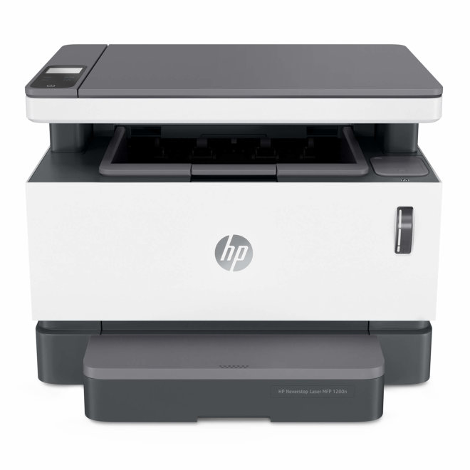 HP Neverstop Laser MFP 1200n, višefunkcijski pisač, laserski ispis C/B, A4, Ethernet, USB, 60 – 120 g/m² [5HG87A#B19]
