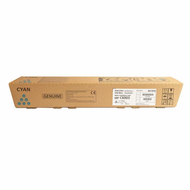 Ricoh/Nashuatec MP C4503 / MP C4504 / MP C5503 / MP C5504 / MP C6003, Cyan, toner, cca 22.500 ispisa, Original [841856]