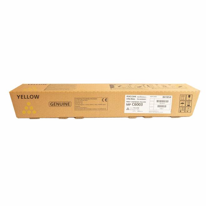 Ricoh/Nashuatec MP C4503 / MP C4504 / MP C5503 / MP C5504 / MP C6003, Yellow, toner, cca 22.500 ispisa, Original [841854]