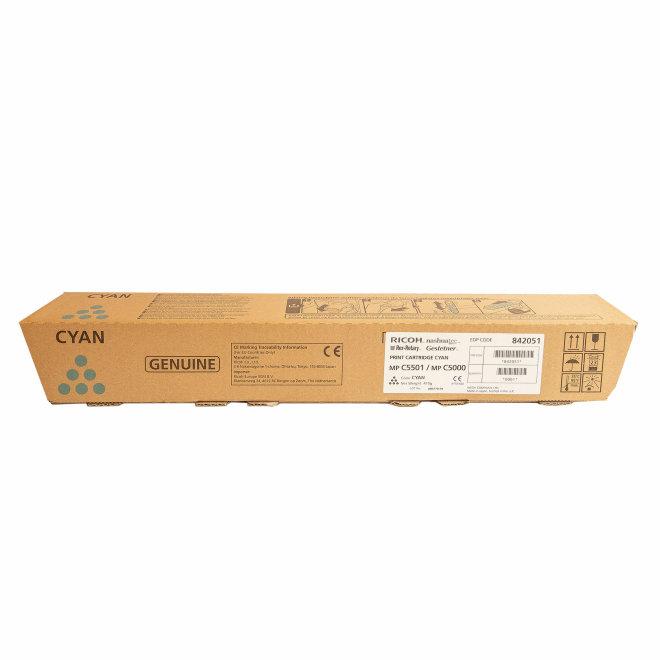 Ricoh/Nashuatec MP C4501 / MP C5501, Cyan, toner, cca 18.000 ispisa, Original [842051]