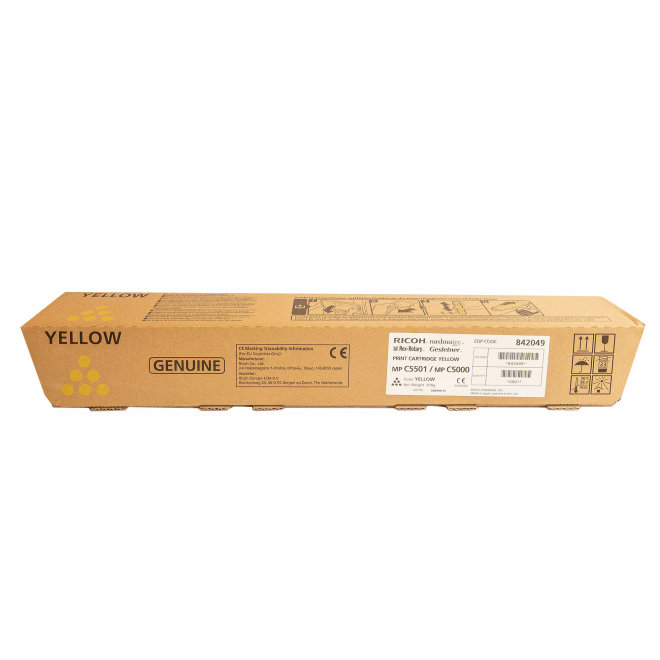 Ricoh/Nashuatec MP C4501 / MP C5501, Yellow, toner, cca 18.000 ispisa, Original [841461]