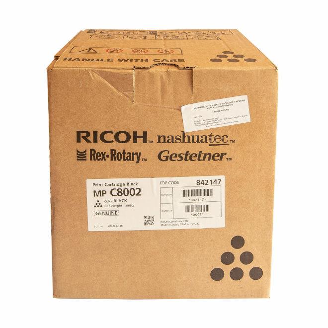 Ricoh/Nashuatec MP C6502SP / MP C8002, Black, toner, cca 48.500 ispisa, Original [842147]
