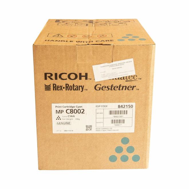 Ricoh/Nashuatec MP C6502SP / MP C8002, Cyan, toner, cca 29.000 ispisa, Original [842150]