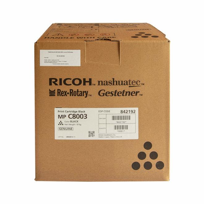 Ricoh/Nashuatec MP C 6503 / 8003, Black, toner, cca 47.000 ispisa, Original [842192]