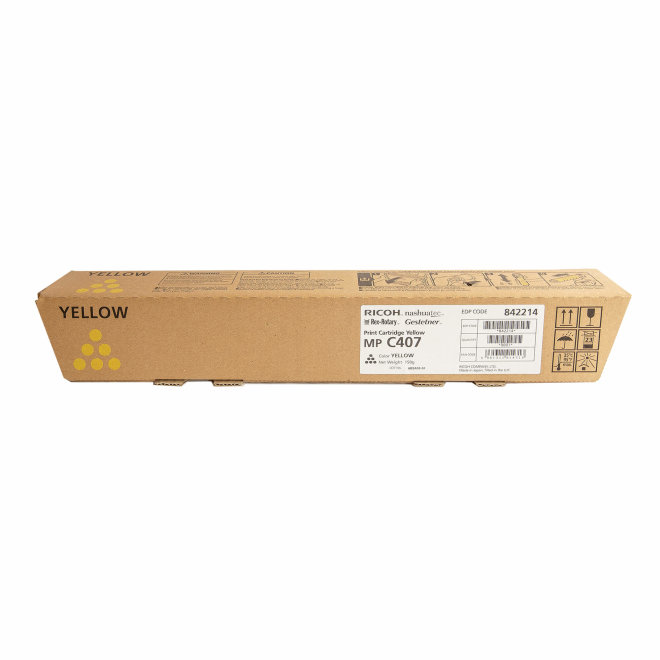 Ricoh/Nashuatec MP C407, Yellow, toner, cca 8.000 ispisa, Original [842214]