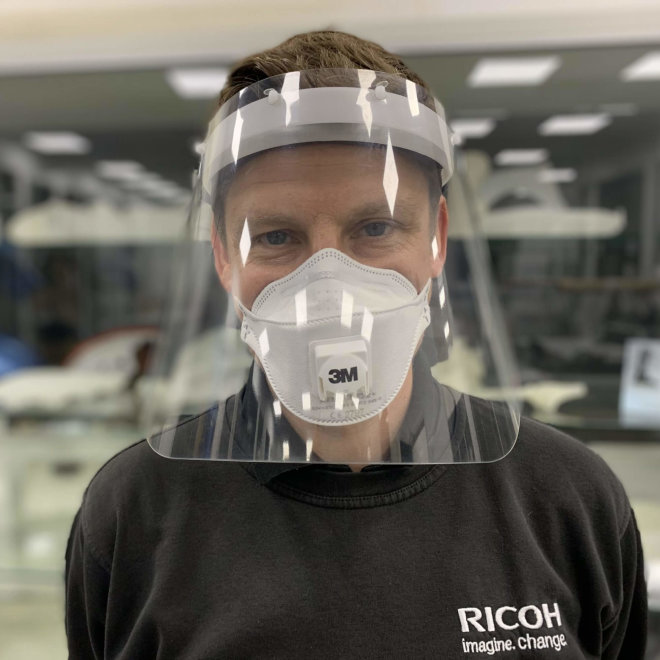 Ricoh zaštitni vizir za lice, Original [VISOR001]