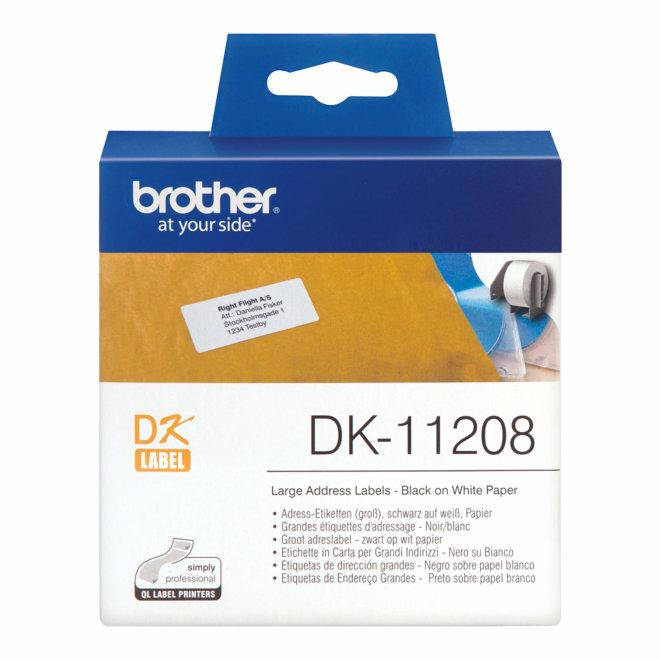 Brother naljepnice DK-11208, rola za označavanje, Original [DK11208]