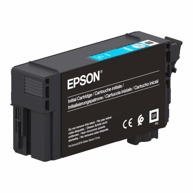 Epson Singlepack UltraChrome XD2 Cyan T40D240, tinta, 50 ml, Original [C13T40D240]