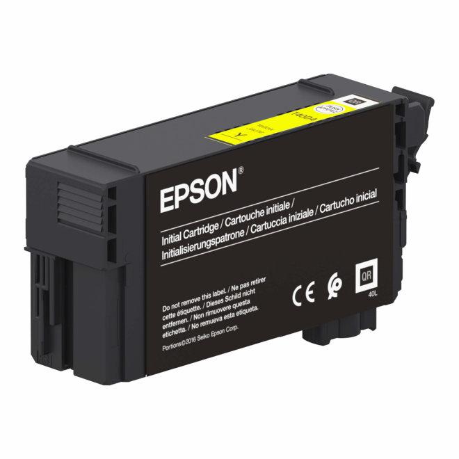 Epson Singlepack UltraChrome XD2 Yellow T40D440, tinta, 50 ml, Original [C13T40D440]