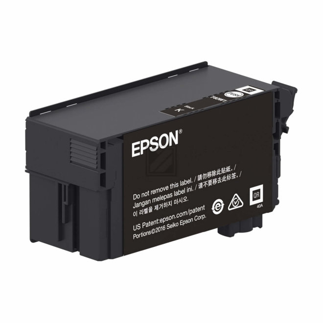 Epson Singlepack UltraChrome XD2 Black T40D140, tinta, 80 ml, Original [C13T40D140]