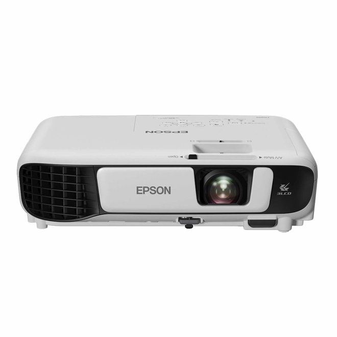 Epson EB-W41, projektor, 3LCD, WXGA, HD, WiFi, USB, HDMI, VGA in, 3,600 lm, Bijela, 2,5 kg [V11H844040]