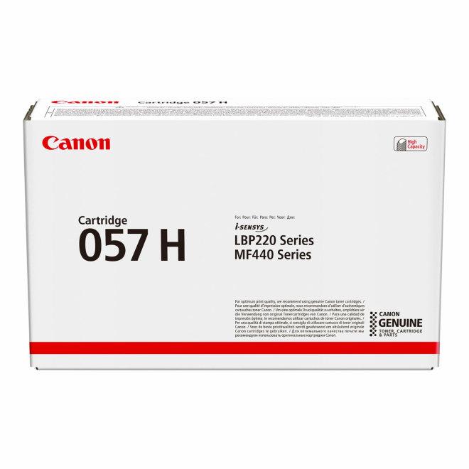 Canon i-SENSYS 057H Toner Cartridge, Black, toner, kazeta, cca 10.000 ispisa, Original [3010C002AA]