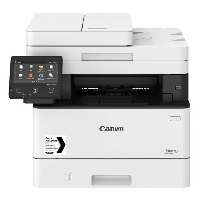 Canon i-SENSYS MF443dw, višefunkcijski pisač, laserski c/b ispis, A4, WiFi, Ethernet, USB, Secure PIN print, Touchscreen, Duplex, ADF, 60 – 163 g/m² [3514C008AA]