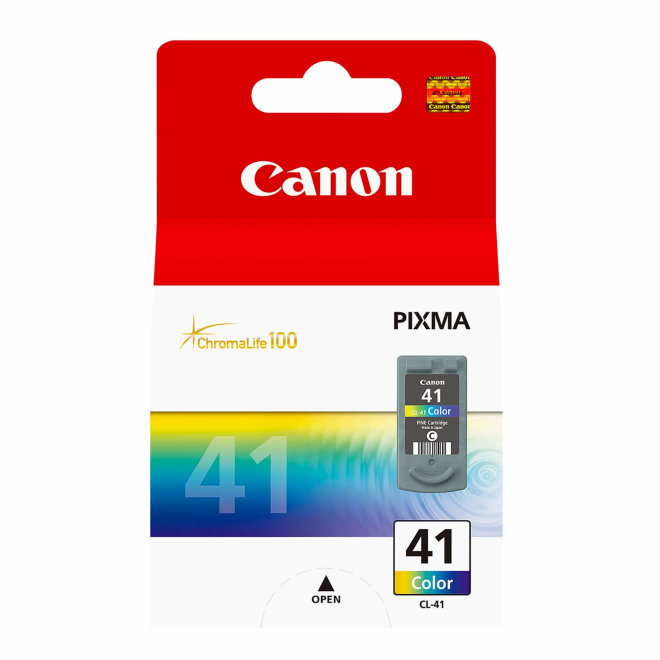 Canon CL-41 C/M/Y Colour Ink Cartridge, tinta, 12ml, Original [0617B001AF]