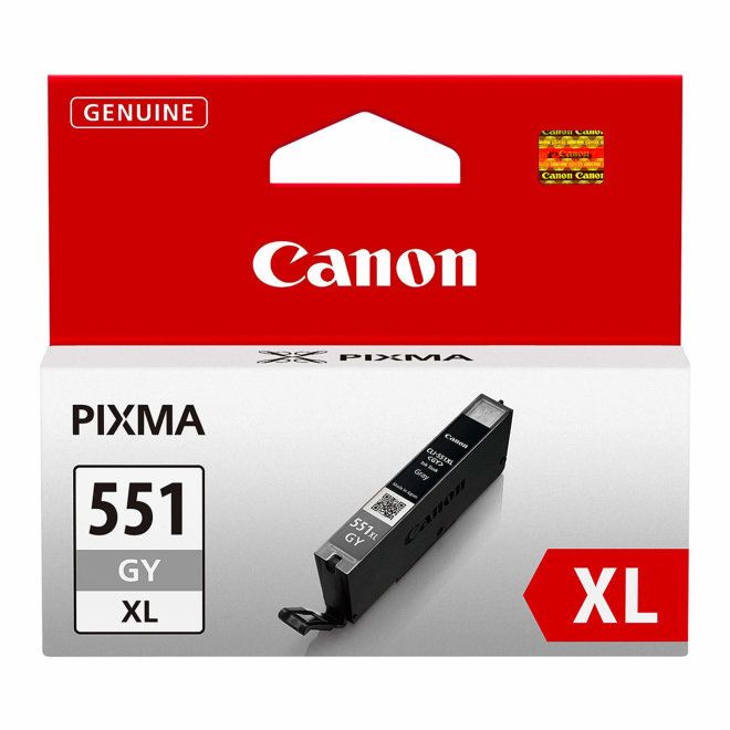 Canon tinta CLI-551XL GY, Grey, cca 270 ispisa, Original [6447B001AA]
