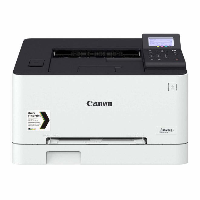 Canon i-SENSYS LBP621Cw, jednofunkcijski pisač, laserski ispis u boji, A4, WiFi, Ethernet, USB, Google Cloud Print, AirPrint, 60 – 200 g/m² [3104C007AA]