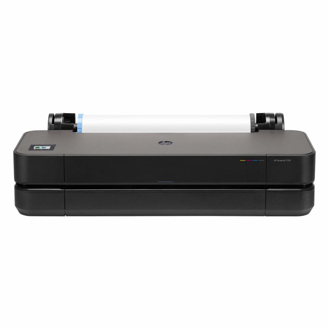 "HP DesignJet T230 Printer, ploter, tintni ispis u boji, 4 boje, 24"", WiFi, Ethernet, USB, Black, 60 – 280 g/m² [5HB07A#B19]"