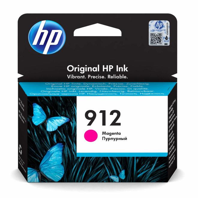HP 912 Magenta Original Ink Cartridge, tinta, cca 315 ispisa, Original [3YL78AE#BGX]