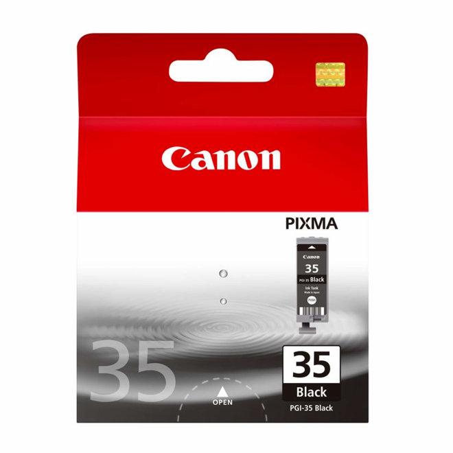 Canon PGI-35BK Black Ink Cartridge, tinta, cca 191 ispis, Original [1509B001AA]