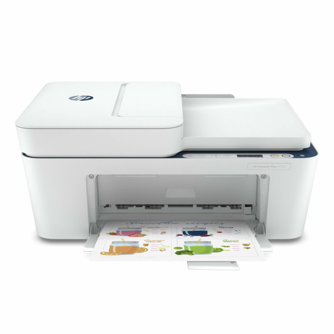 HP DeskJet Plus 4130, višefunkcijski pisač, tintni ispis u boji, A4, WiFi, USB, ADF, Apple AirPrint, Mopria, 60 – 300 g/m² [7FS77B#670]