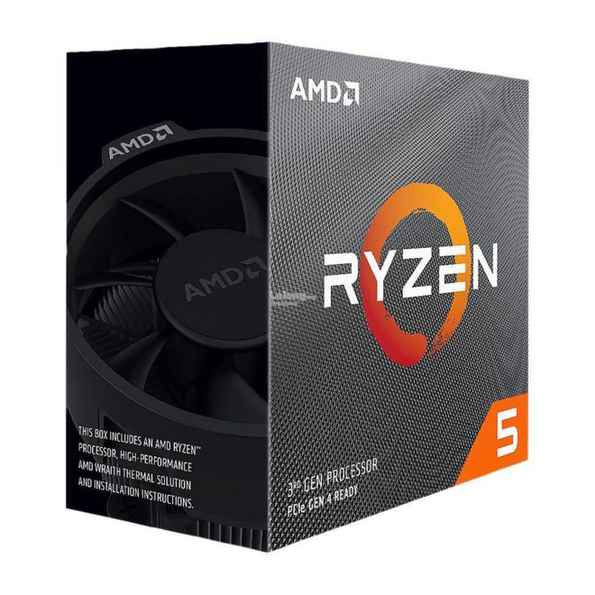 AMD Ryzen 5 3600X BOX, Procesor,  6C/12T, 4.4GHz, 32MB, AM4, Wraith Spire Cooler [100-100000022BOX]