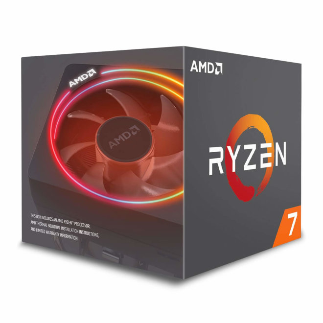 AMD Ryzen 7 3800X BOX, Procesor, 8C/16T, 4.5GHz, 32MB, AM4, Wraith Prism with RGB LED [100-100000025BOX]
