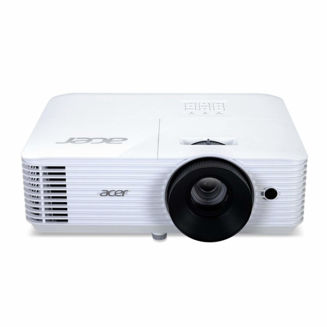 Acer X118HP, projektor, SVGA, DLP, HDMI, USB, VGA in/out, 4,000 lm, White, 2,8 kg [MR.JR711.012]