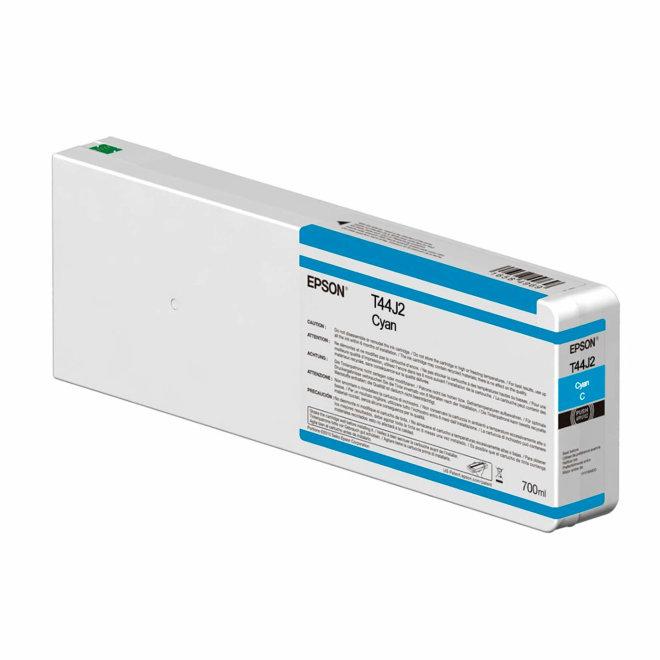 Epson Singlepack Cyan T44J240 UltraChrome PRO 12 700ml, tinta, Original [C13T44J240]