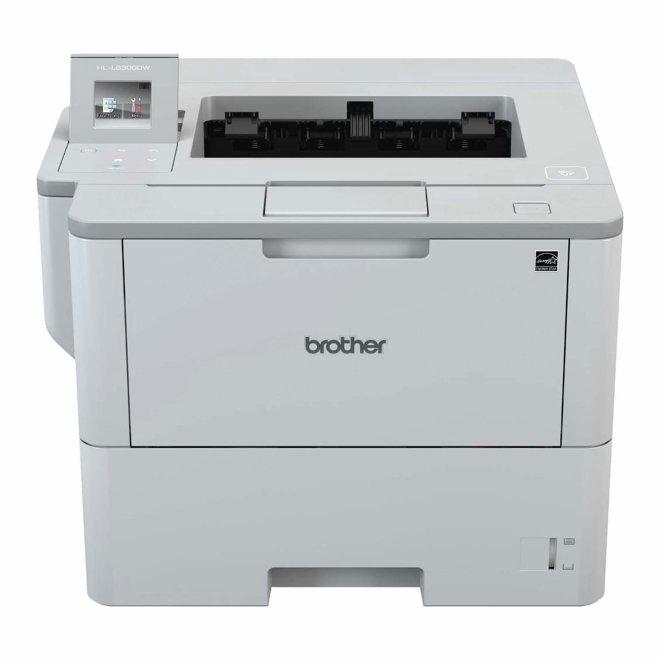 Brother HL-L6300DW, jednofunkcijski pisač, laserski ispis c/b, A4, WiFi, USB, Ethernet, NFC, Dupleks, Touchscreen, 60 – 200 g/m² [HLL6300DWRF1]