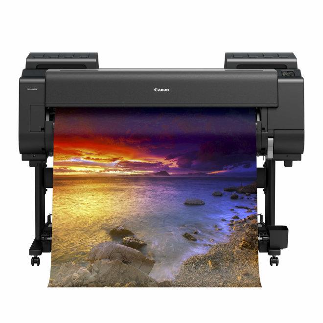 "Canon imagePROGRAF PRO-4100S, ploter, 44"", tintni ispis u boji, 8 boja, 3GB RAM, 500GB HDD, CAD, GIS, posteri, WiFi, Ethernet, USB, Touchscreen [3873C003AA]"