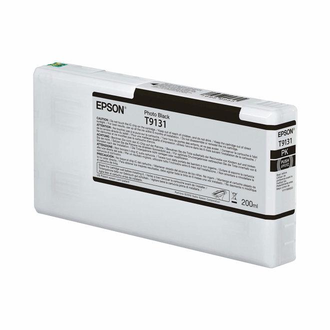 Epson T9131 Photo Black Ink Cartridge (200ml), tinta, Original [C13T913100]