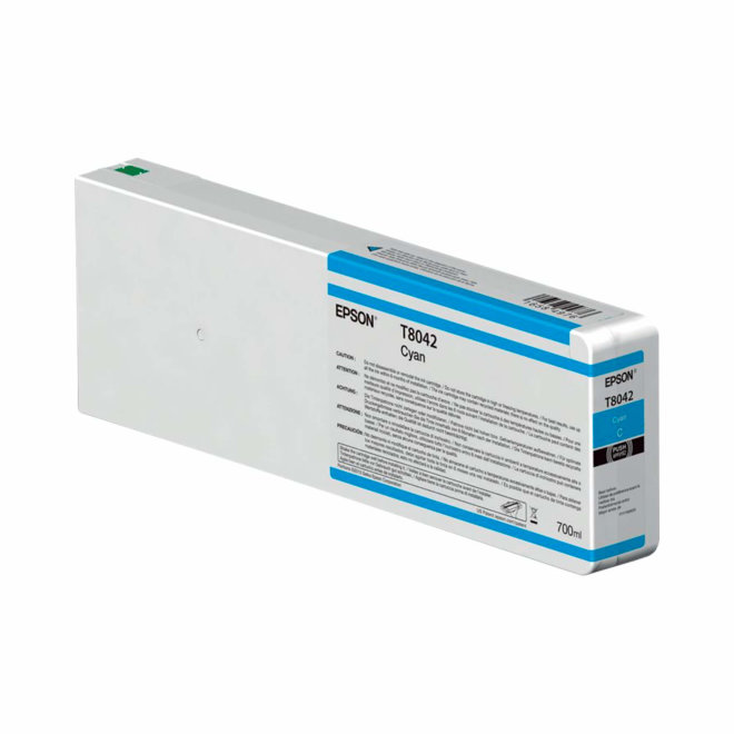 Epson Singlepack Cyan T804200 UltraChrome HDX/HD 700ml, tinta, Original [C13T804200]