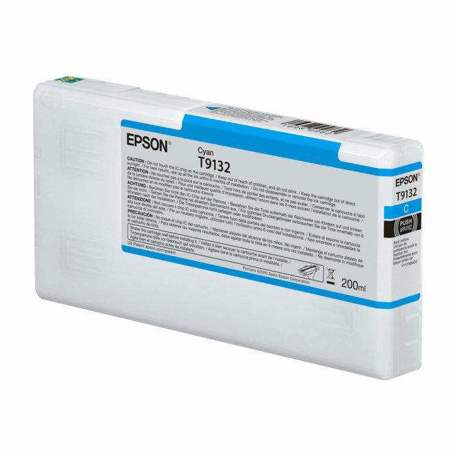 Epson T9132 Cyan Ink Cartridge (200ml), tinta, Original [C13T913200]