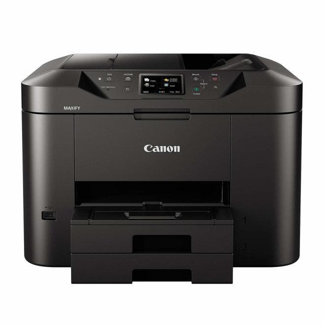 Canon MAXIFY MB2750, višefunkcijski pisač, tintni ispis u boji, A4, WiFi, Ethernet, USB, Cloud Link, Touchscreen, ADF, Duplex, 64 – 275 g/m² [0958C009AA]