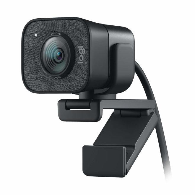 Logitech StreamCam, web kamera, USB-C, Full HD, 1080p, Autofocus, Mikrofon, Graphite [960-001281]