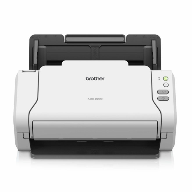 Brother ADS-2200, stolni skener, Scan to Email/Folder/OCR/USB, A4 format, 70 ipm, USB, softver Nuance i NewSoft, 50 – 209 g/m² [ADS2200TC1]
