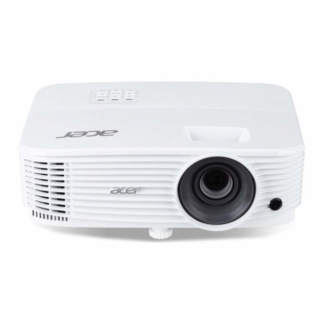 Acer P1255, projektor, XGA, DLP, HDMI, USB, VGA in/out, 4,000 lm, White, torba, 2,4 kg [MR.JSJ11.001]