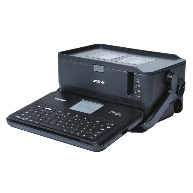 Brother PT-D800W, profesionalni pisač za naljepnice s ugrađenom pro tipkovnicom i LCD ekranom, WiFi, USB [PTD800WYJ1]
