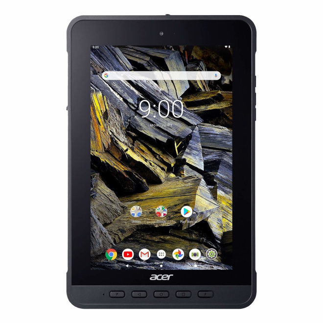 "Acer ENDURO T1, ET108-11A, tablet, MediaTek, 8.0"" IPS, 4GB RAM, 64GB eMMC, Kamera, WiFi, GPS, HDMI, E-compass, Military STD, IP54, Android, Hand Strap, Black, 0,49 kg [NR.R0MEE.002]"