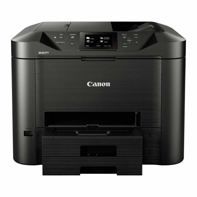 Canon MAXIFY MB5450, višefunkcijski pisač, tintni ispis u boji, A4, Wi-Fi, Ethernet, USB, Cloud Link, Touchscreen, Duplex, ADF, 60 – 275 g/m² [0971C009AA]