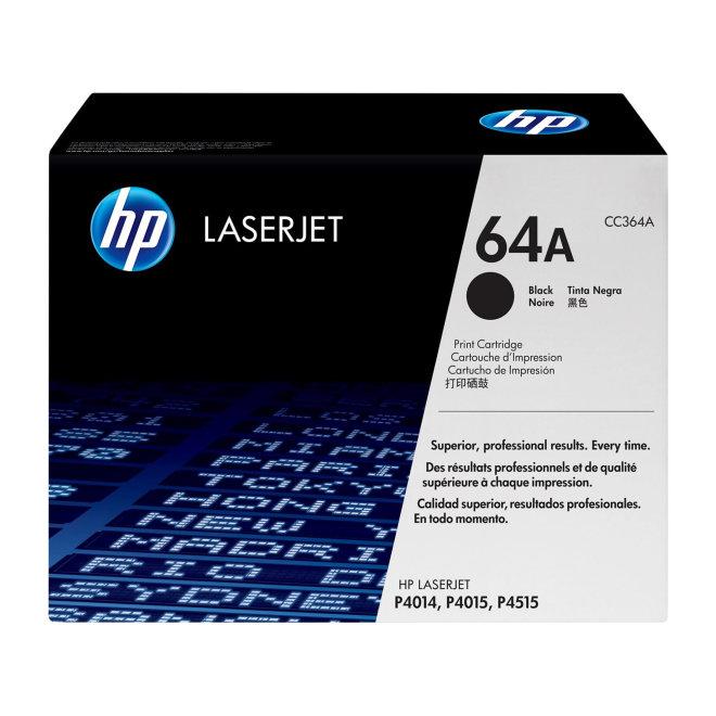 HP 64A Black Original LaserJet Toner Cartridge, kazeta, cca 10.000 ispisa, Original [CC364A]