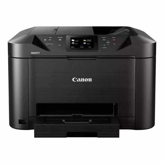 Canon Maxify MB5150, višefunkcijski pisač, tintni ispis u boji, A4, Wi-Fi, Ethernet, USB, Cloud Link, Touchscreen, Duplex, ADF, 64 – 275 g/m² [0960C009AA]