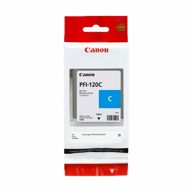 Canon PFI-120C Cyan Ink Cartridge 130ml, tinta, Original [2886C001AA]