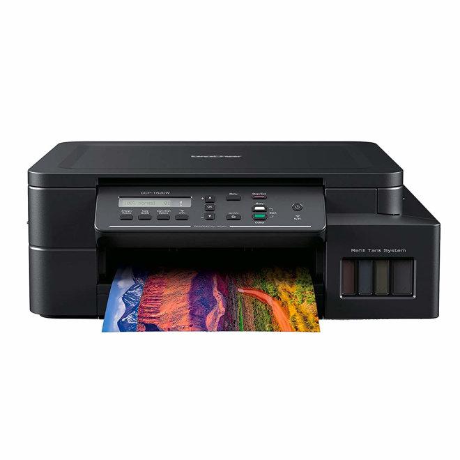 Brother DCP-T520W, InkBenefit Plus, višefunkcijski pisač, tintni ispis u boji, A4, WiFi, USB, 2 x Crna tinta, 64 – 220 g/m² [DCPT520WYJ1]