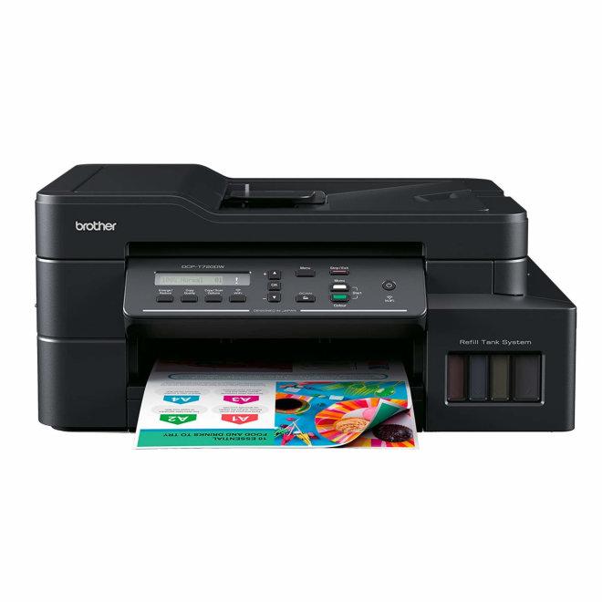 Brother DCP-T720DW, InkBenefit Plus, višefunkcijski pisač, tintni ispis u boji, A4, WiFi, USB, ADF, Duplex, 2 x Crna tinta, 64 – 220 g/m² [DCPT720DWYJ1]