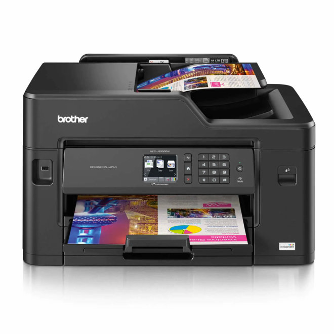 Brother MFC-J2330DW, Print+Scan+Copy+Fax, tintni ispis u boji, A3 format, WiFi, Ethernet, Dupleks, ADF, Touchscreen [MFCJ2330DWYJ1]